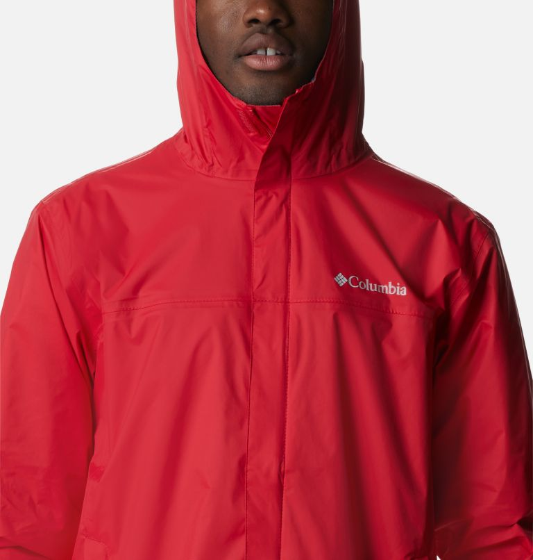 Watertight™ II Jacket | 613 | S Men's Watertight™ II Jacket, Mountain Red, a2