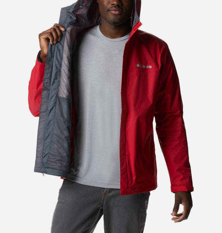 Watertight™ II Jacket | 613 | S Men's Watertight™ II Jacket, Mountain Red, a3