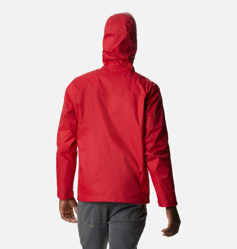 Watertight™ II Jacket | 613 | S Men's Watertight™ II Jacket, Mountain Red, back