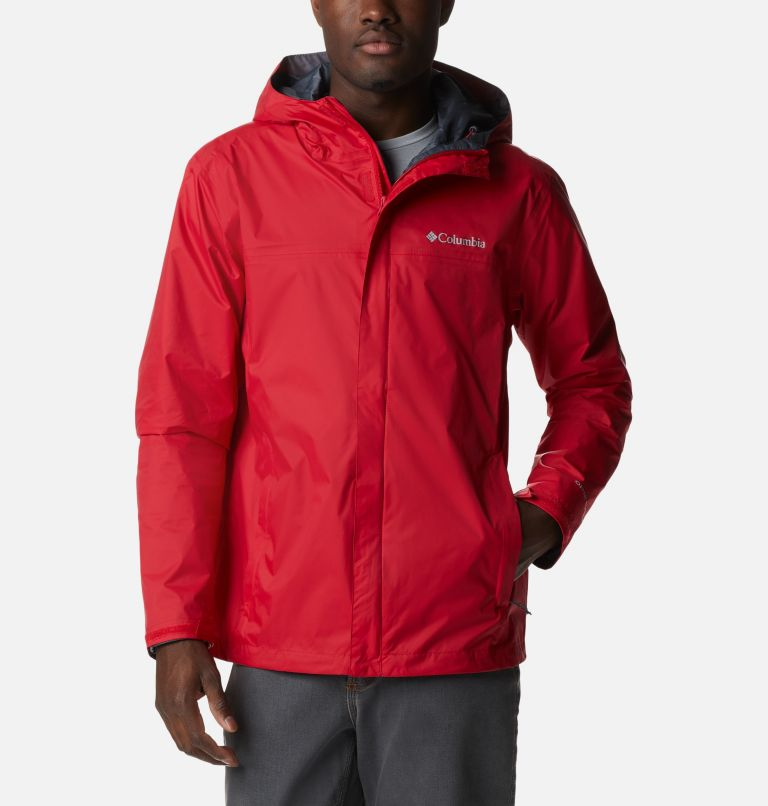 Watertight™ II Jacket | 613 | S Men's Watertight™ II Jacket, Mountain Red, front
