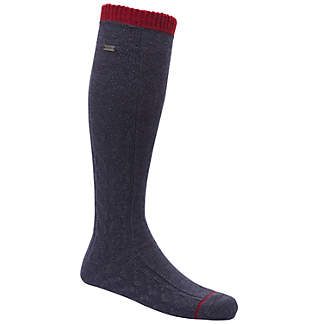 Women's Novelty Cable Wool Knee-Hi Socks