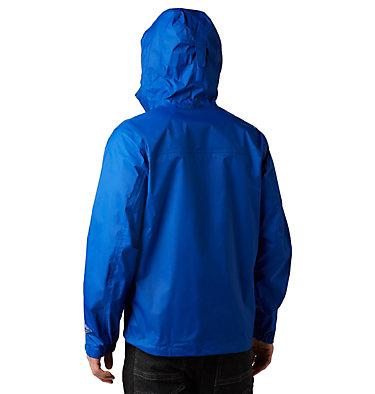 Men's EvaPOURation™ Omni-Tech™ Jacket - Big EvaPOURation™ Jacket | 375 | 2X, Azul, back