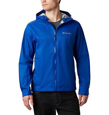 Men's EvaPOURation™ Omni-Tech™ Jacket - Big EvaPOURation™ Jacket | 375 | 2X, Azul, front