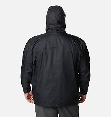 Manteau Watertight™ II pour homme – Taille forte Watertight™ II Jacket | 433 | 6X, Black, back