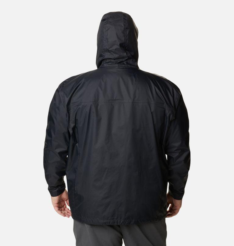 Watertight™ II Jacket | 010 | 4X Men's Watertight™ II Rain Jacket - Big, Black, back