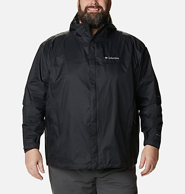 Manteau Watertight™ II pour homme – Taille forte Watertight™ II Jacket | 433 | 6X, Black, front