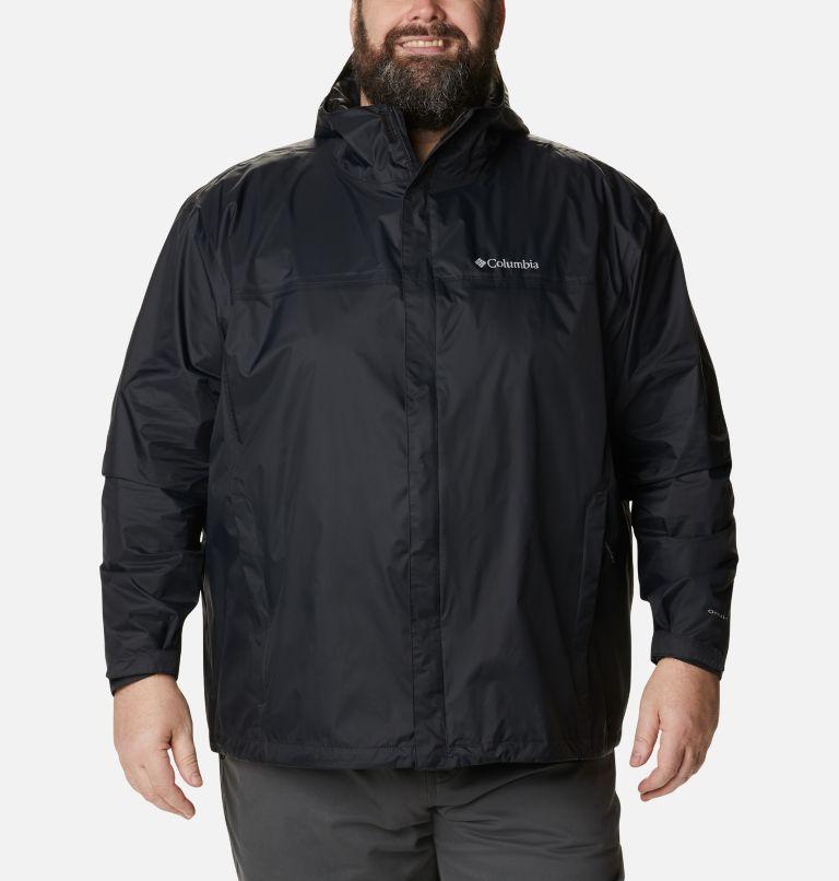 Watertight™ II Jacket | 010 | 4X Men's Watertight™ II Rain Jacket - Big, Black, front