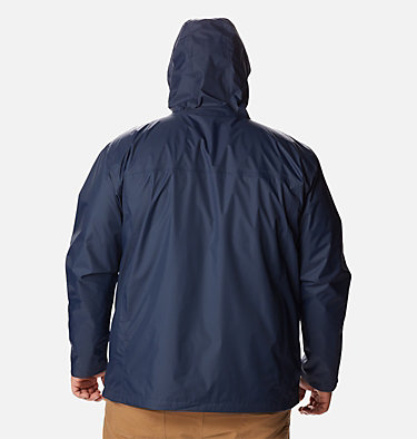 Manteau Watertight™ II pour homme – Taille forte Watertight™ II Jacket | 433 | 6X, Collegiate Navy, back