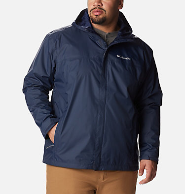 Manteau Watertight™ II pour homme – Taille forte Watertight™ II Jacket | 433 | 6X, Collegiate Navy, front
