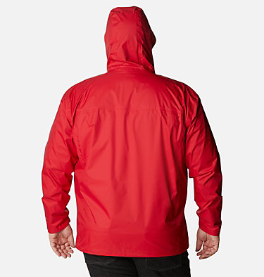Manteau Watertight™ II pour homme – Taille forte Watertight™ II Jacket | 433 | 6X, Mountain Red, back