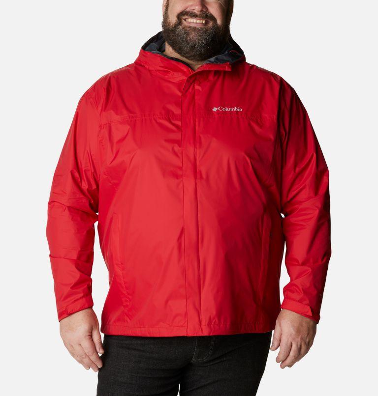 Watertight™ II Jacket | 613 | 3X Men's Watertight™ II Jacket - Big, Mountain Red, front