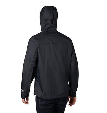 Men's EvaPOURation™ Omni-Tech™ Jacket - Tall EvaPOURation™ Jacket | 375 | 4XT, Black, back
