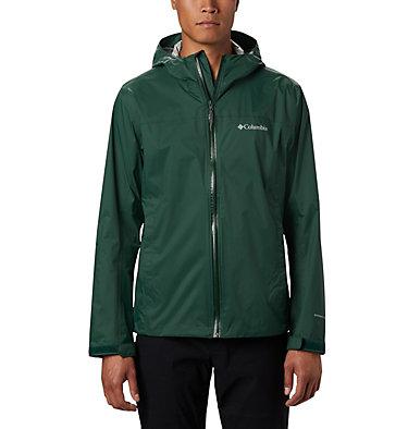 Men's EvaPOURation™ Omni-Tech™ Jacket - Tall EvaPOURation™ Jacket | 375 | 4XT, Rain Forest, front