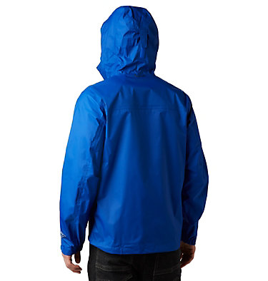 Men's EvaPOURation™ Omni-Tech™ Jacket - Tall EvaPOURation™ Jacket | 375 | 4XT, Azul, back