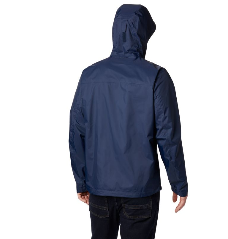 EvaPOURation™ Jacket | 465 | 2XT Men's EvaPOURation™ Omni-Tech™ Jacket - Tall, Collegiate Navy, back