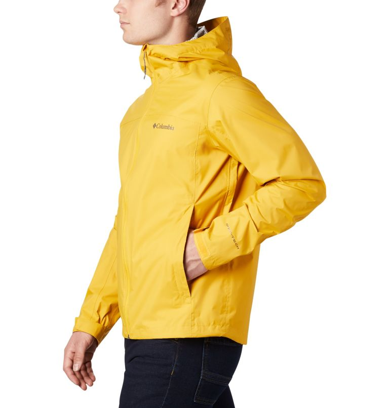 EvaPOURation™ Jacket | 790 | 3XT Men's EvaPOURation™ Omni-Tech™ Jacket - Tall, Bright Gold, a1