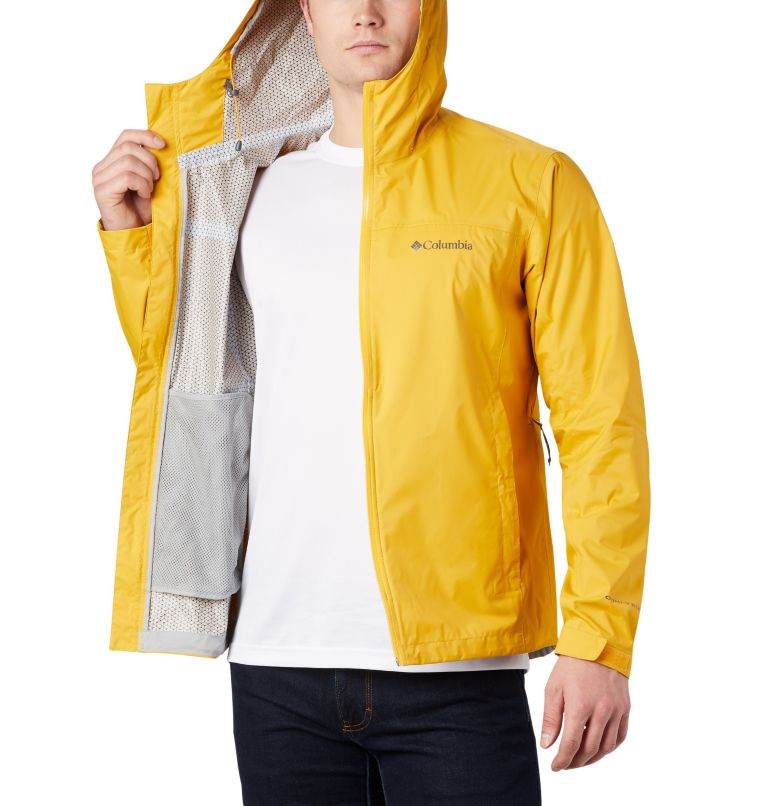 EvaPOURation™ Jacket | 790 | 3XT Men's EvaPOURation™ Omni-Tech™ Jacket - Tall, Bright Gold, a4