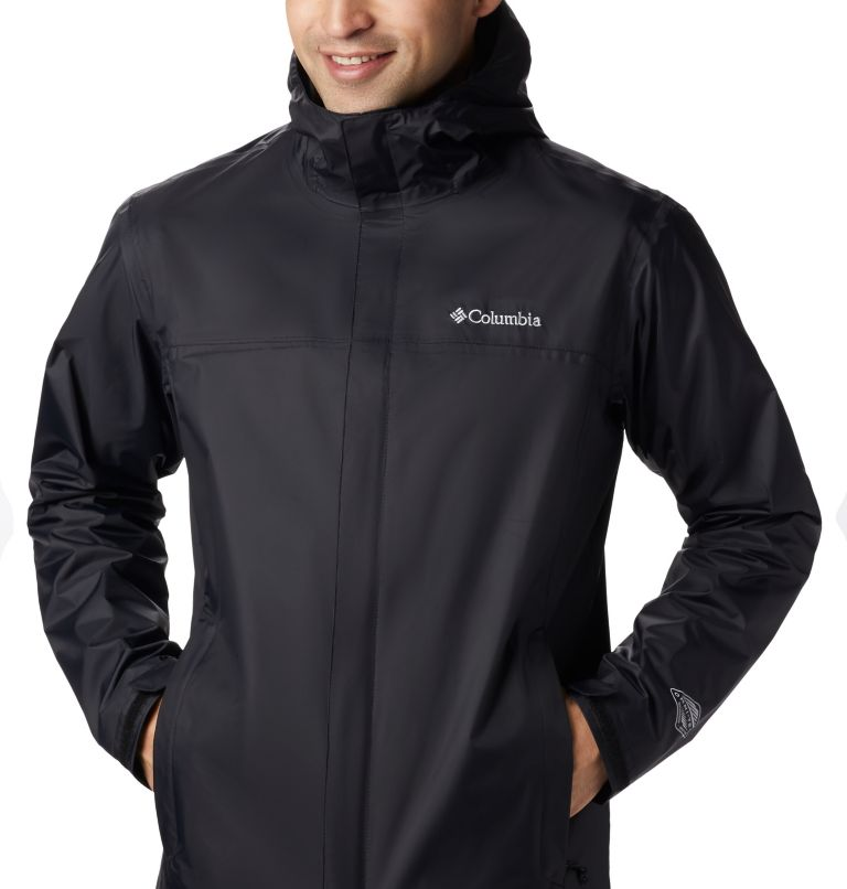 Watertight™ II Jacket | 010 | LT Men's Watertight™ II Jacket - Tall, Black, a6