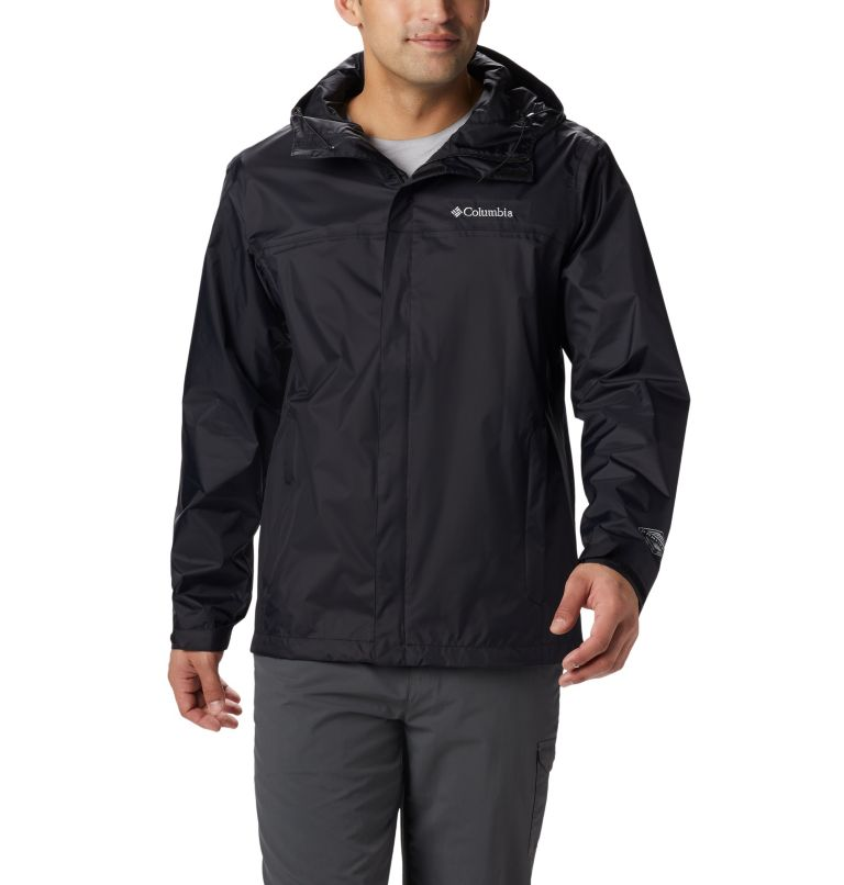 Watertight™ II Jacket | 010 | LT Men's Watertight™ II Jacket - Tall, Black, front