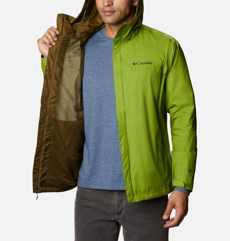 Watertight™ II Jacket | 352 | 3XT Men's Watertight™ II Jacket - Tall, Matcha, a3