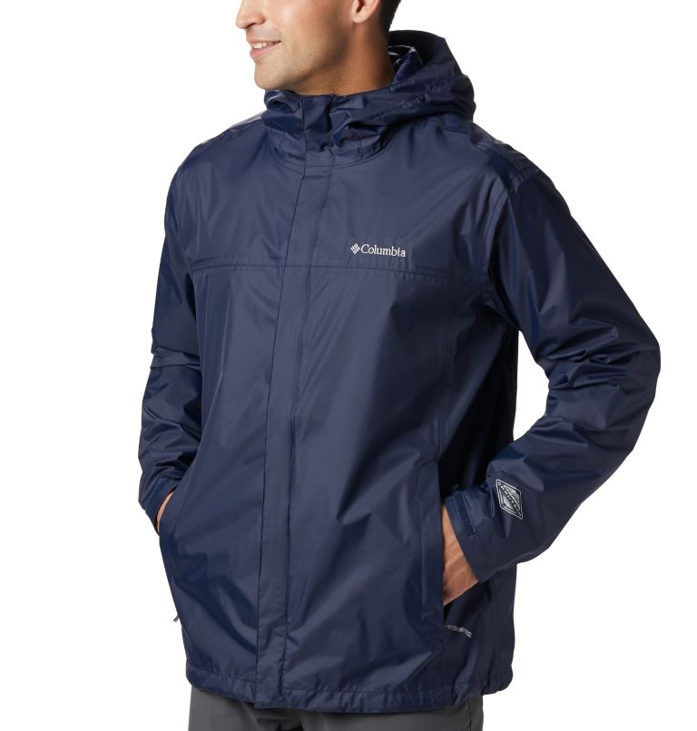 Watertight™ II Jacket | 464 | 3XT Men's Watertight™ II Jacket - Tall, Collegiate Navy, a3