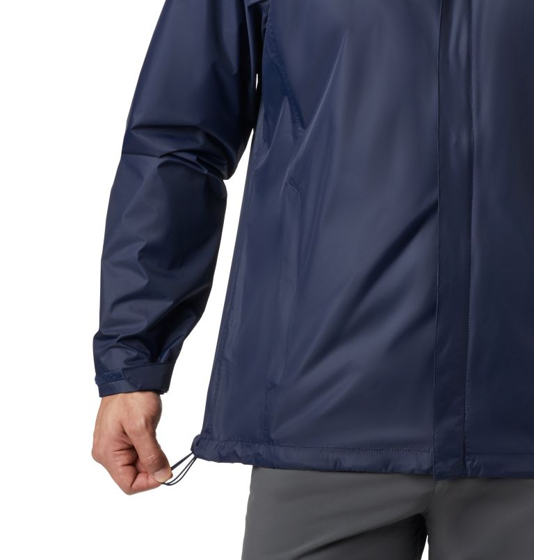 Watertight™ II Jacket | 464 | 3XT Men's Watertight™ II Jacket - Tall, Collegiate Navy, a5