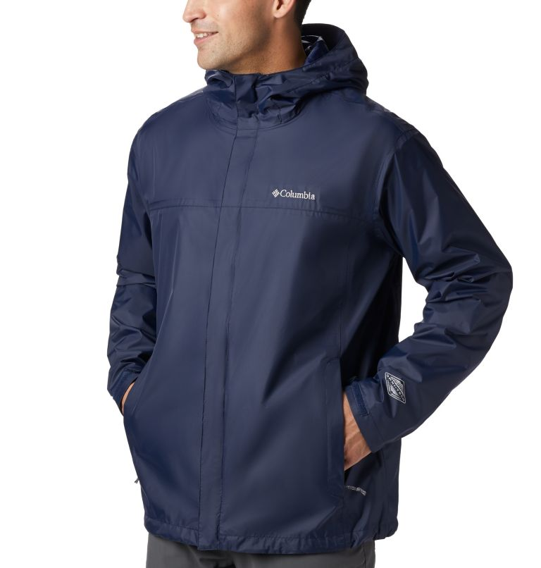 Watertight™ II Jacket | 464 | 3XT Men's Watertight™ II Jacket - Tall, Collegiate Navy, a6