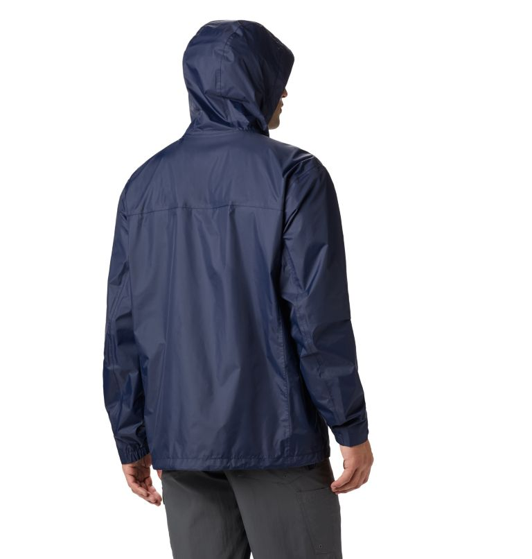 Watertight™ II Jacket | 464 | 3XT Men's Watertight™ II Jacket - Tall, Collegiate Navy, back