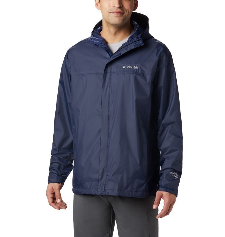 Watertight™ II Jacket | 464 | 3XT Men's Watertight™ II Jacket - Tall, Collegiate Navy, front