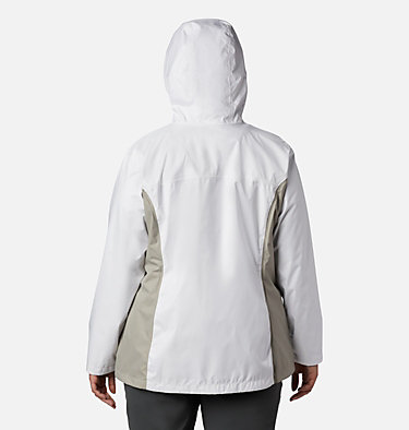 Women's Arcadia™ II Jacket - Plus Size Arcadia™ II Jacket | 584 | 1X, White, Flint Grey, back