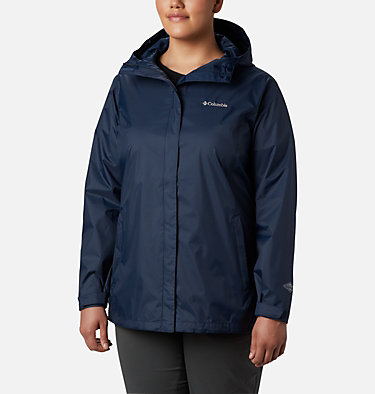 Manteau Arcadia™ II pour femme - Tailles fortes Arcadia™ II Jacket | 582 | 1X, Columbia Navy, front