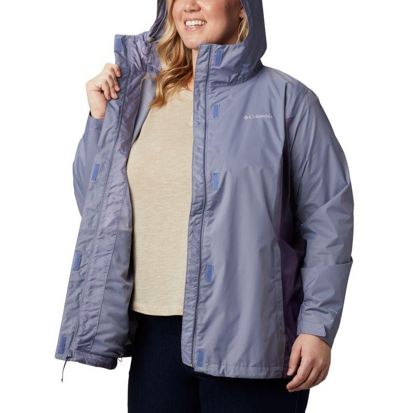 Arcadia™ II Jacket | 556 | 1X Women's Arcadia™ II Jacket - Plus Size, New Moon, Plum Purple, a3