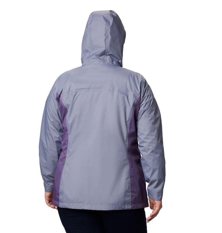 Arcadia™ II Jacket | 556 | 1X Women's Arcadia™ II Jacket - Plus Size, New Moon, Plum Purple, back