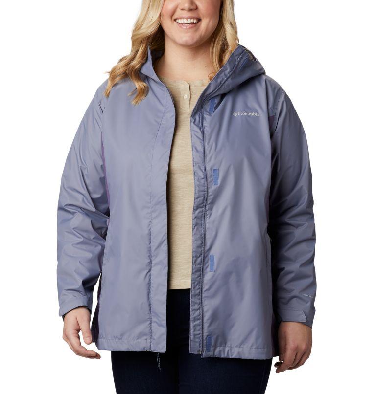 Arcadia™ II Jacket | 556 | 1X Women's Arcadia™ II Jacket - Plus Size, New Moon, Plum Purple, front