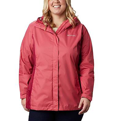 Women's Arcadia™ II Jacket - Plus Size Arcadia™ II Jacket | 584 | 1X, Rouge Pink, Red Orchid, front