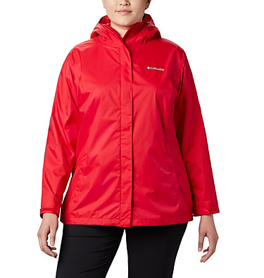 Women's Arcadia™ II Jacket - Plus Size Arcadia™ II Jacket | 584 | 1X, Red Lily, front