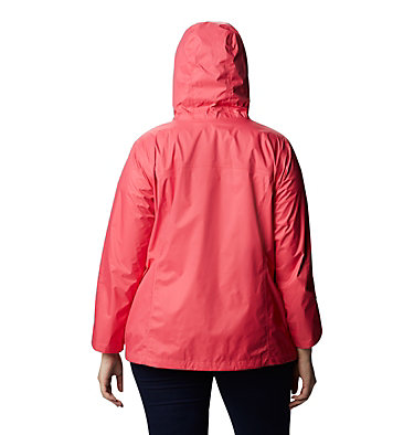 Women's Arcadia™ II Jacket - Plus Size Arcadia™ II Jacket | 584 | 1X, Bright Geranium, back