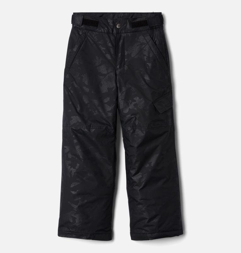 Ice Slope™ II Pant | 018 | XL Boys' Ice Slope™ II Ski Pant, Black Camo Emboss, front