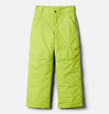 Boys' Ice Slope™ II Pant Ice Slope™ II Pant | 018 | XS, Bright Chartreuse, front