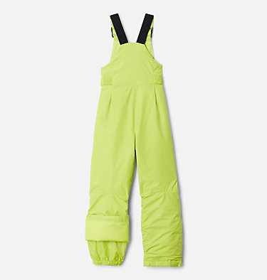 Boys' Snowslope™ II Bib Snowslope™ II Bib   432   XS, Bright Chartreuse, back