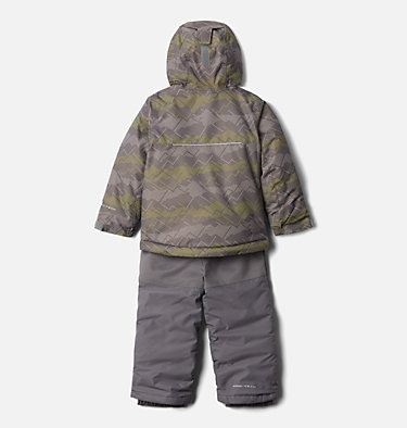 Ensemble Buga™ Enfant Buga™ Set | 434 | 3T, City Grey Dot Scape Print, Columbia Grey, back