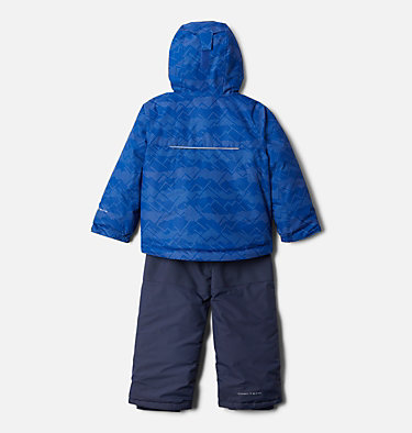 Ensemble Buga™ Enfant Buga™ Set | 434 | 3T, Lapis Blue Dot Scape Print, Pale Lilac, back
