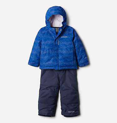 Toddlers' Buga™ Set Buga™ Set | 667 | 2T, Lapis Blue Dot Scape Print, Pale Lilac, front