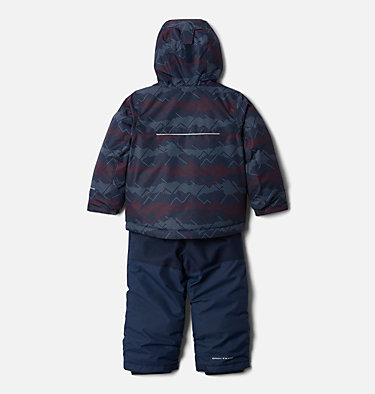 Ensemble Buga™ Enfant Buga™ Set | 434 | 3T, Coll Navy Dotscape Print, Coll Navy, back
