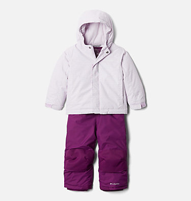Toddlers' Buga™ Set Buga™ Set | 667 | 2T, Pale Lilac Sparklers Print, Pale Lilac, front