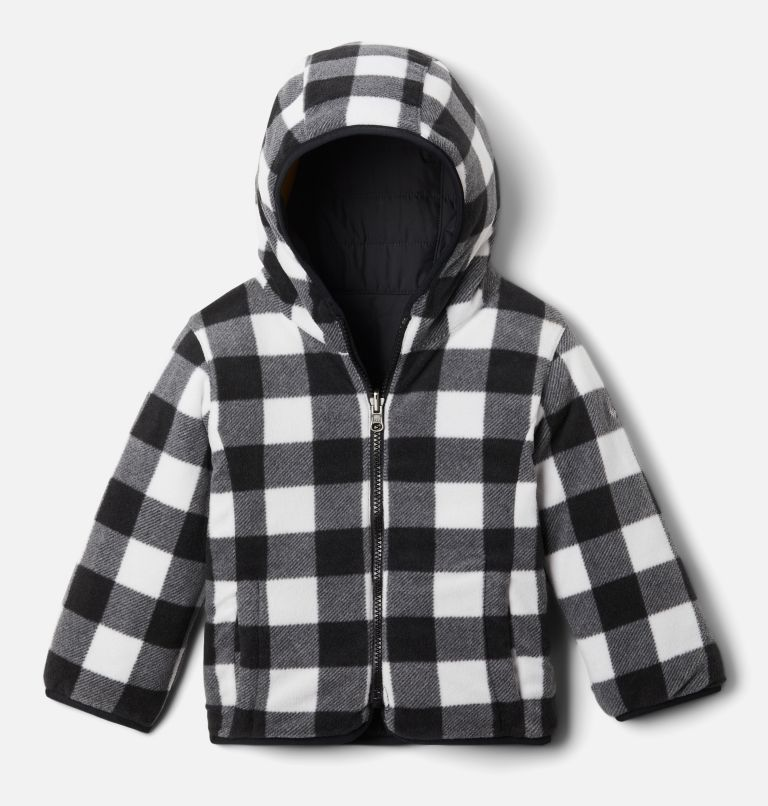 Double Trouble™ Jacket | 018 | 4T Toddler Double Trouble™ Reversible Jacket, Black, a1