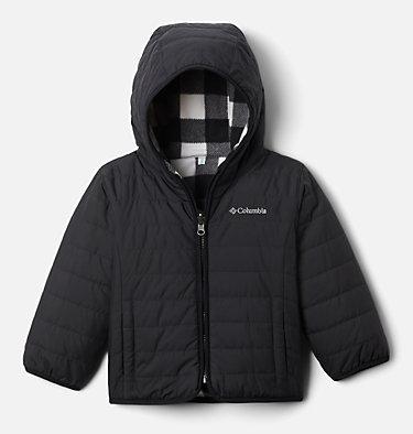 Toddler Double Trouble™ Reversible Jacket Double Trouble™ Jacket | 356 | 4T, Black, front