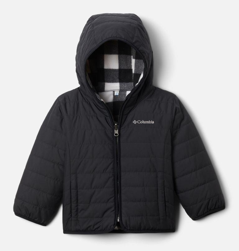 Double Trouble™ Jacket | 018 | 4T Toddler Double Trouble™ Reversible Jacket, Black, front