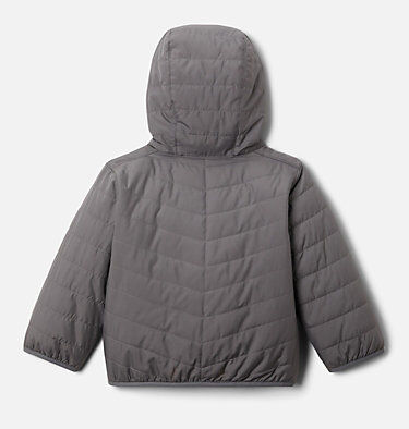 Toddler Double Trouble™ Reversible Jacket Double Trouble™ Jacket | 575 | 2T, City Grey, back