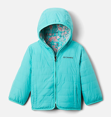 Toddler Double Trouble™ Reversible Jacket Double Trouble™ Jacket | 575 | 2T, Dolphin, front